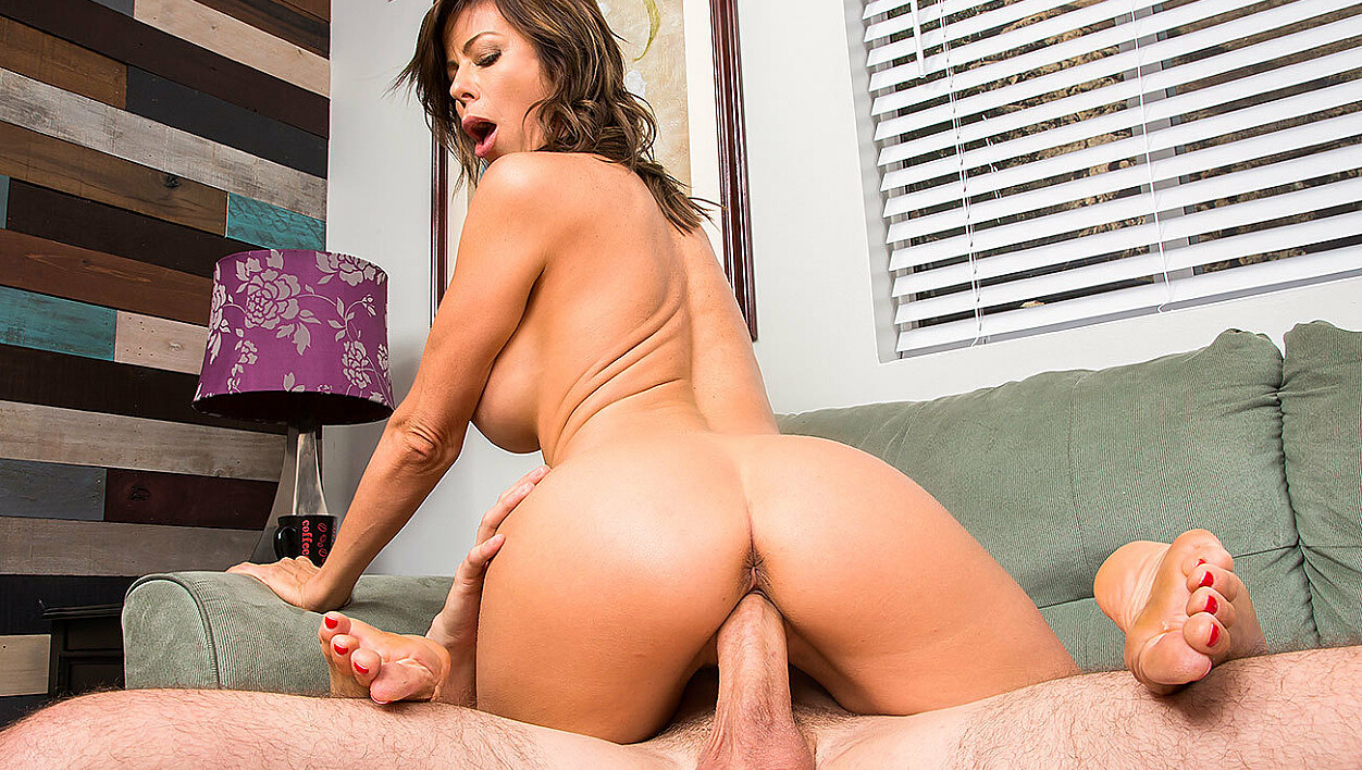 """MILF Alexis Fawx and her big tits help """"nurse"""" a hangover"""