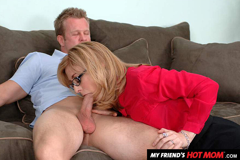 Mom Son Moms Friend Threesome