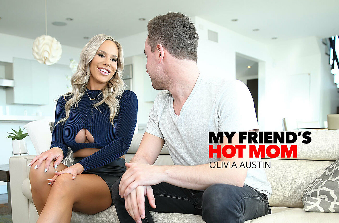 Watch Olivia Austin and Van Wylde 4K video in My Friend's Hot Mom
