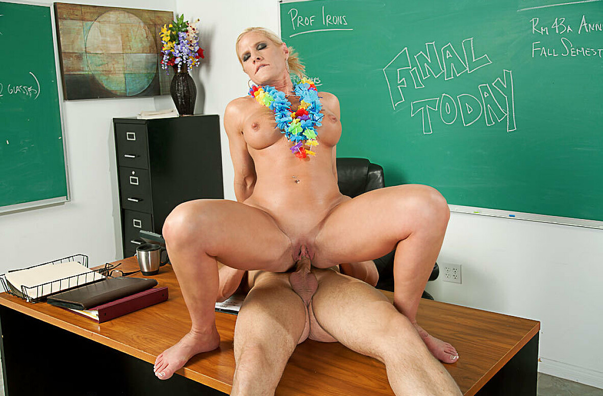 Watch Amber Irons and Scott Stone video in My First Sex Teacher
