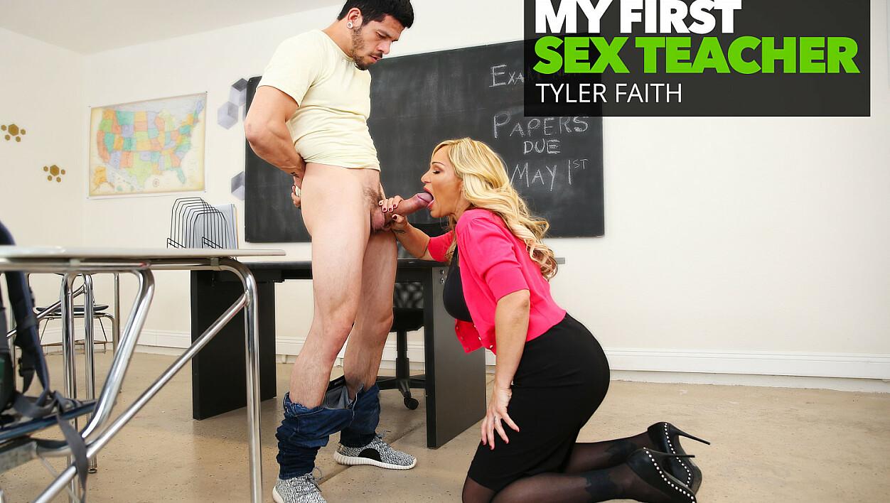Prof. Tyler Faith gets a big cock