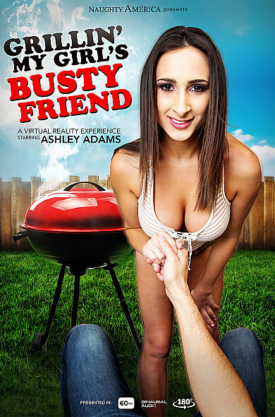 Watch Ashley Adams enjoy some American and BGG!