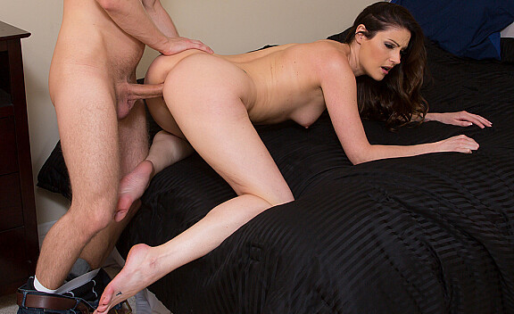 Samantha Ryan fucking in the bedroom with her athletic body - Sex Position #4