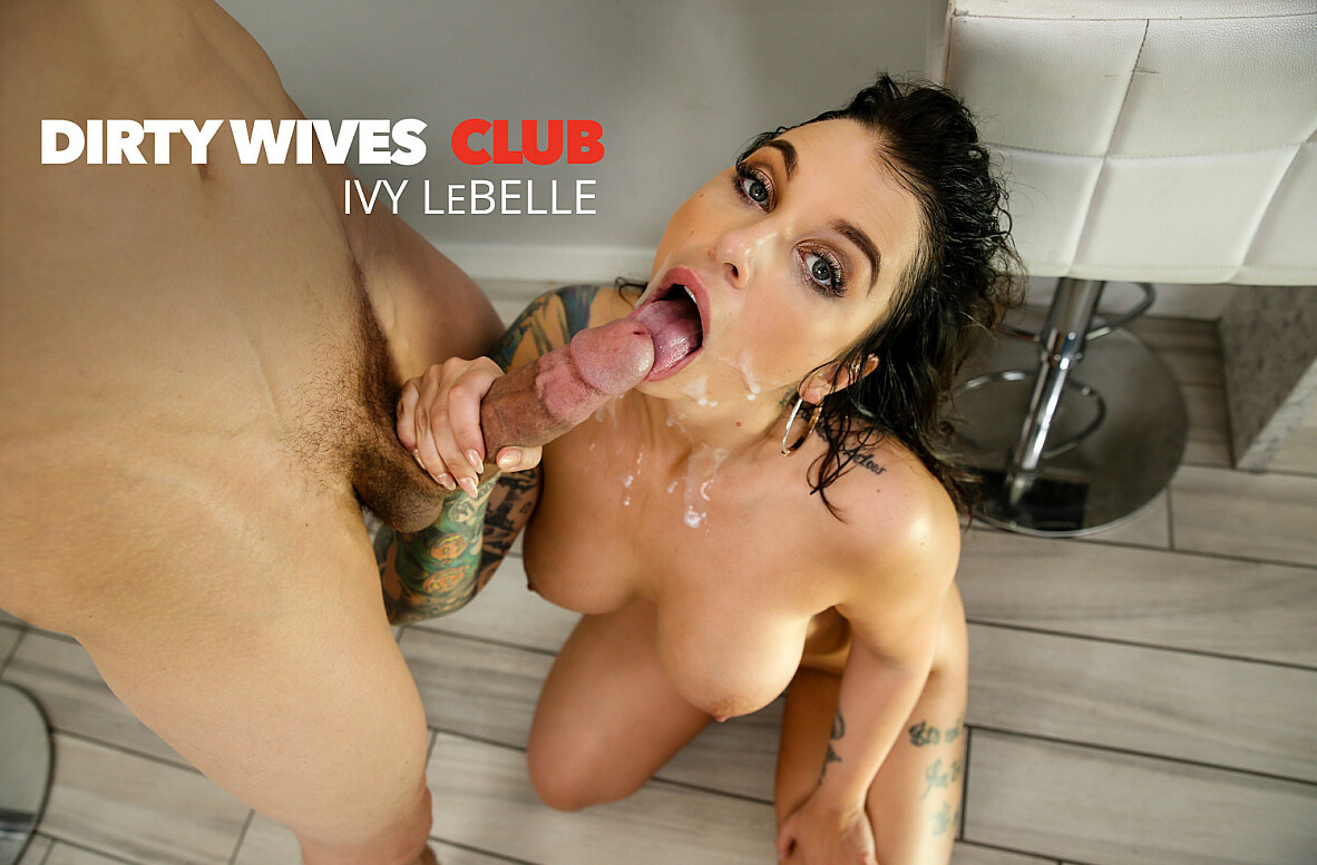 Watch Ivy LeBelle and Bruce Venture 4K video in Dirty Wives Club