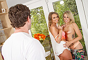 Alexis Adams & Zoey Monroe & Preston Parker in Neighbor Affair