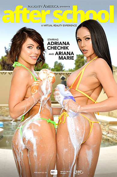 Watch Ariana Marie enjoy some American and Ball licking!