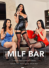 MILFs August Taylor, Crystal Rush, and Reagan Foxx fuck the bartender