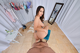Ava Addams fucking in the chair with her brown eyes - Sex Position 3