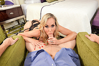 Brandi Love fucking in the chair with her lingerie vr porn - Sex Position 2