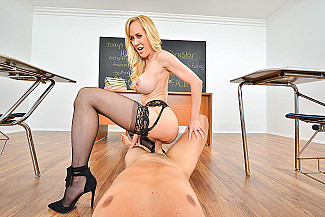 Brandi Love fucking in the chair with her tits vr porn - Sex Position 4