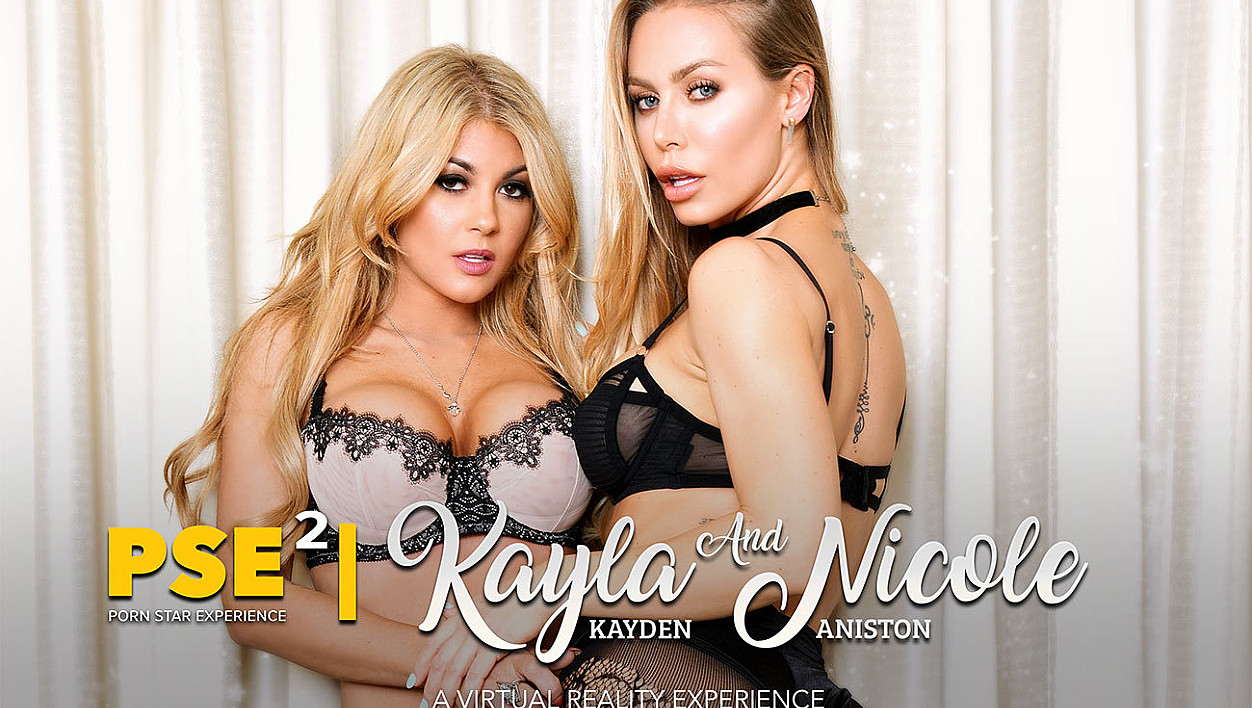 Kayla Kayden fucking in the bed with her tattoos vr porn