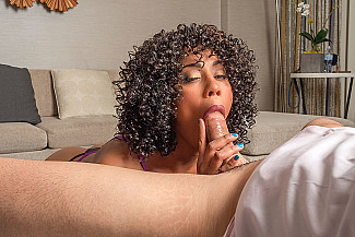 Misty Stone Fucks You With Her Black Pussy  - Sex Position 2
