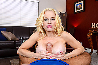 Nikki Delano fucking in the couch with her big tits vr porn - Sex Position 3
