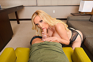 Nikki Benz fucking in the chair with her piercings vr porn - Sex Position 2