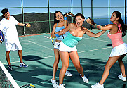 Angelina Valentine & Penny Flame & Victoria Sin & Tony De Sergio in Naughty Athletics