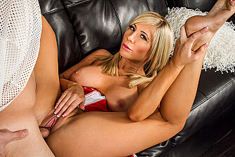 Tasha Reign fucking in the living room with her innie pussy - Sex Position 3