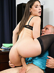 Bad Girl & Boss Porn Video with Big Ass and Big Dick scenes