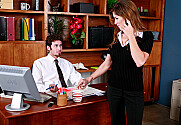 Felony & James Deen in Naughty Office