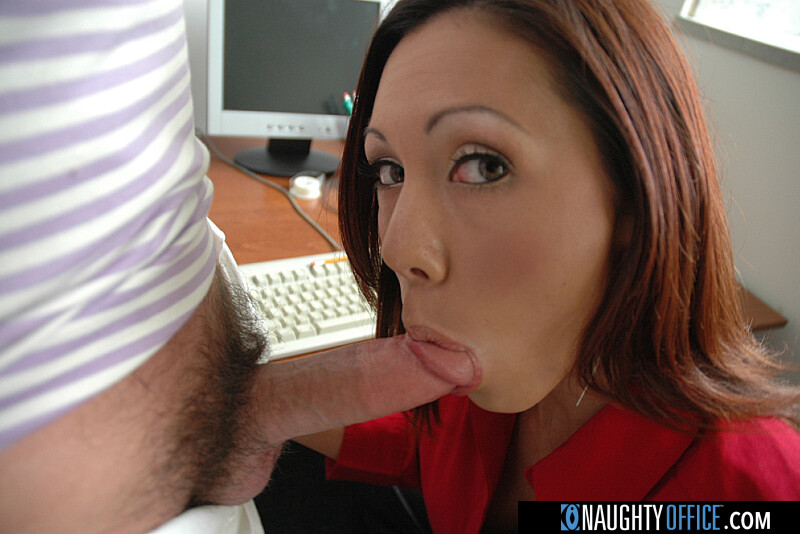 Co-worker Lani Lane fucking in the desk with her petite - Sex Position 2