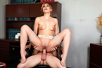 Moka Mora Fucks Her Employee - Sex Position 3