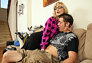 Nina Hartley & Chris Johnson in Seduced By A Cougar