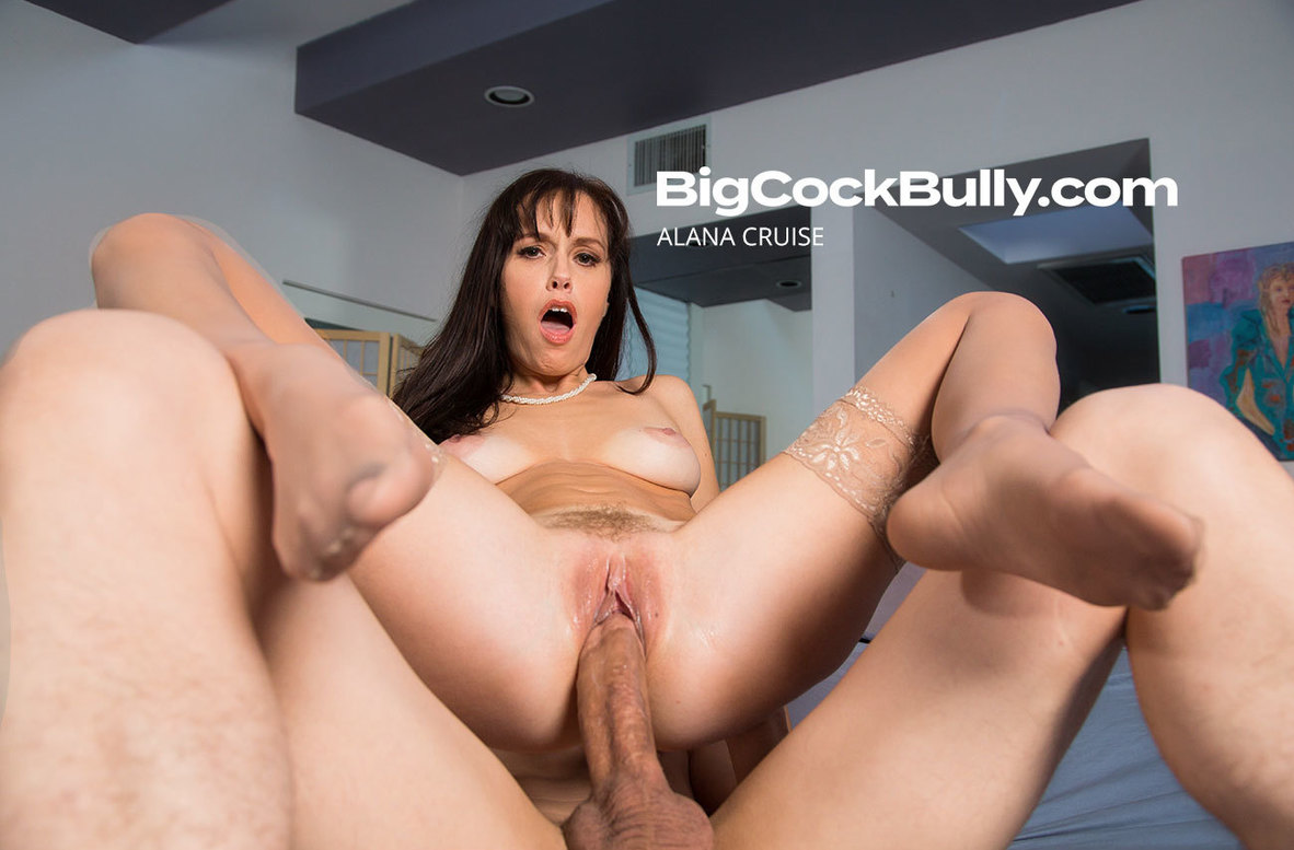 Watch Alana Cruise and Bruce Venture video in Big Cock Bully
