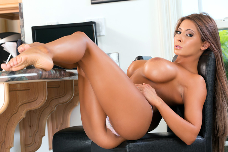 Madison Ivy fucking in the floor with her piercings