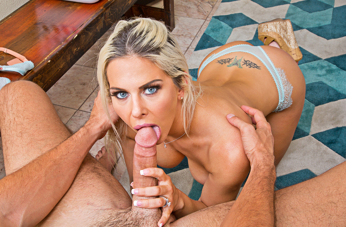 Watch Rachel Roxxx and Ryan Driller 4K video in Housewife 1 on 1