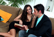 April O'Neil & Ryan Driller in I Have a Wife