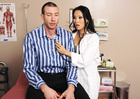 Brunette Asa Akira fucking in the table with her brown eyes - Sex Position 2