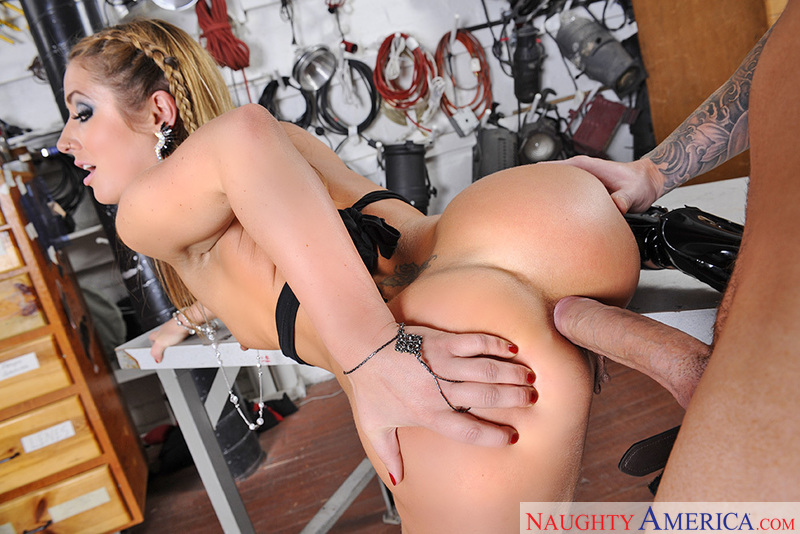 Stephanie love anal bitch for black cock - 3 3