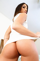 Giselle Leon starring in Landlordporn videos with Average Body and Ball licking