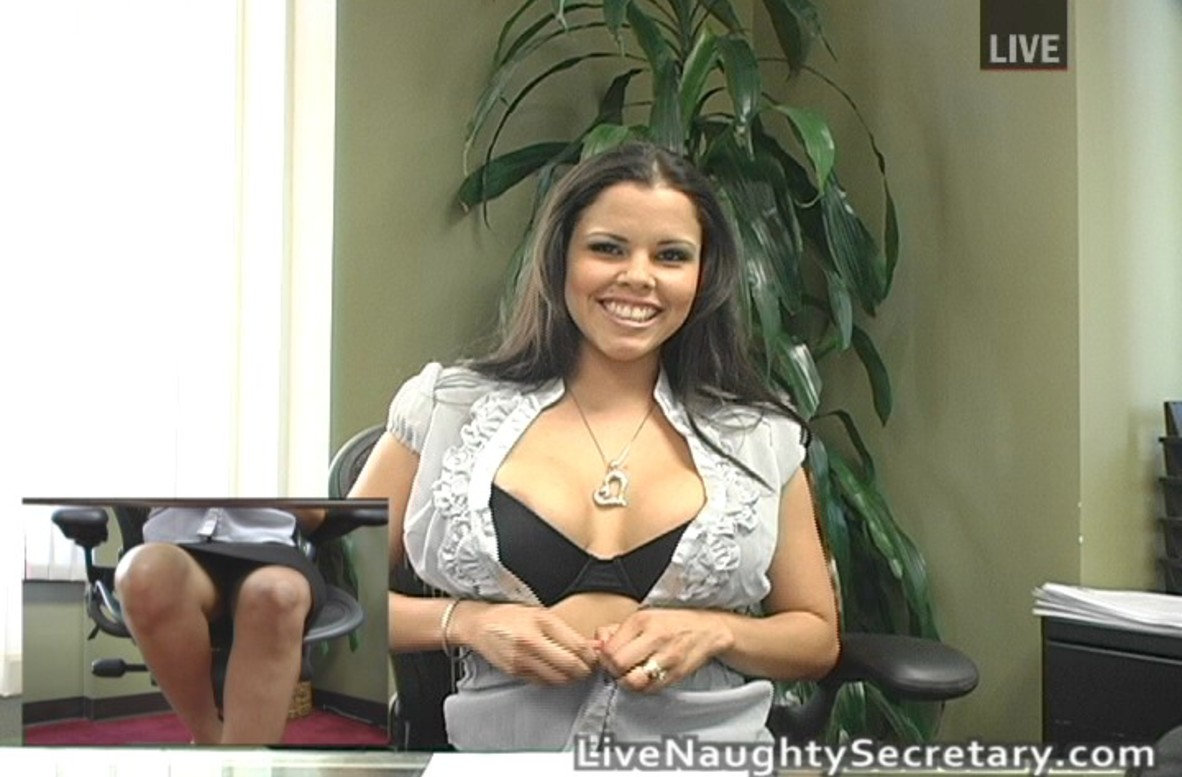 Watch Diamond Kitty video in Live Naughty Secretary