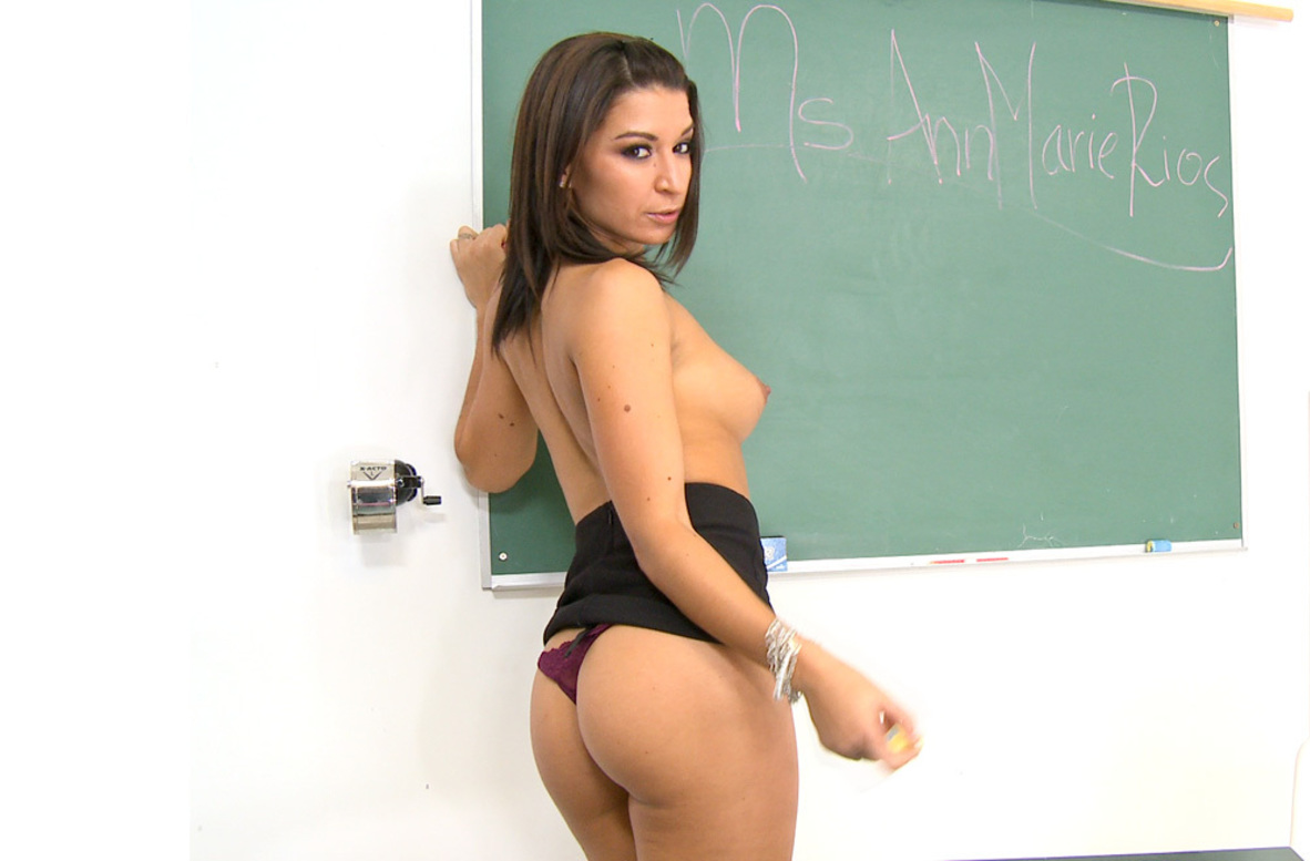 Watch Ann Marie Rios video in Live Naughty Teacher