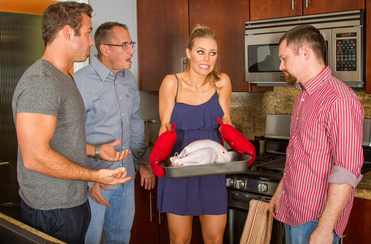 Watch Nicole Aniston and Chad White 4K American video in My Dad's Hot Girlfriend
