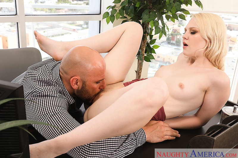 Lily Rader fucking in the office with her bubble butt - Sex Position 2