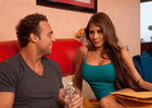 Friend Madison Ivy fucking in the couch with her petite - Sex Position 1