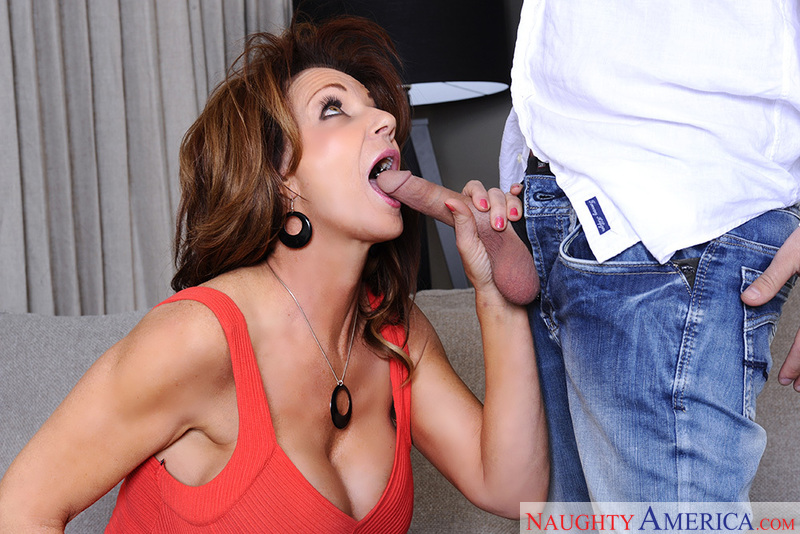 Deauxma fucking in the couch with her big tits - Sex Position 1