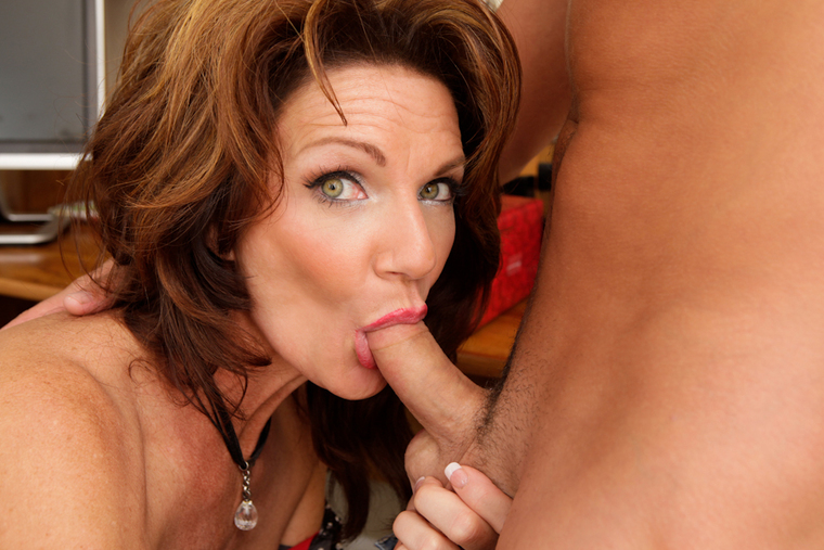 Mature Deauxma fucking in the office with her big tits