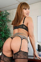 Ava Devine starring in Strangerporn videos with Asian and Ball licking