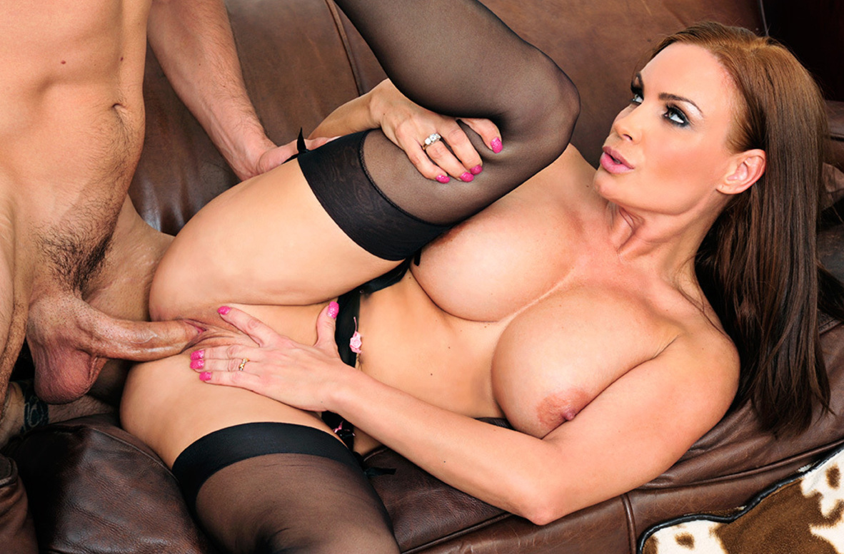 Watch Diamond Foxxx and Ryan Driller video in My First Sex Teacher