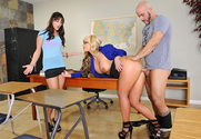 Phoenix Marie & Hope Howell & Derrick Pierce in My First Sex Teacher