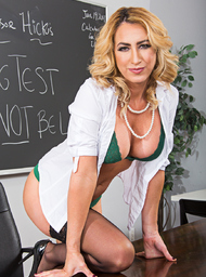 Professor Porn Video with American and Big Fake Tits scenes