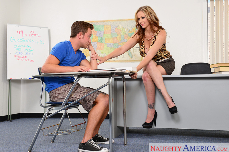 Naughty teacher julia