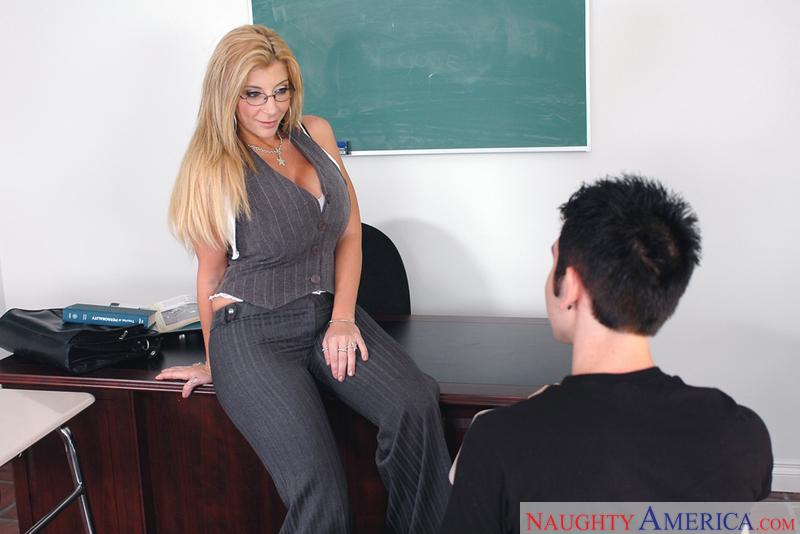 My first sex teacher mrs jay