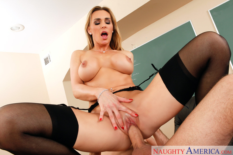 Tanya Tate fucking in the classroom with her piercings - Sex Position 2