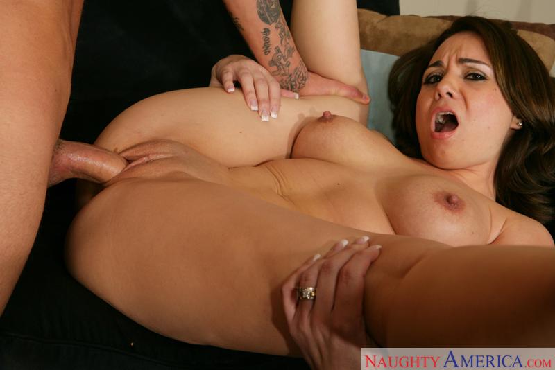 Latina woman full body naked
