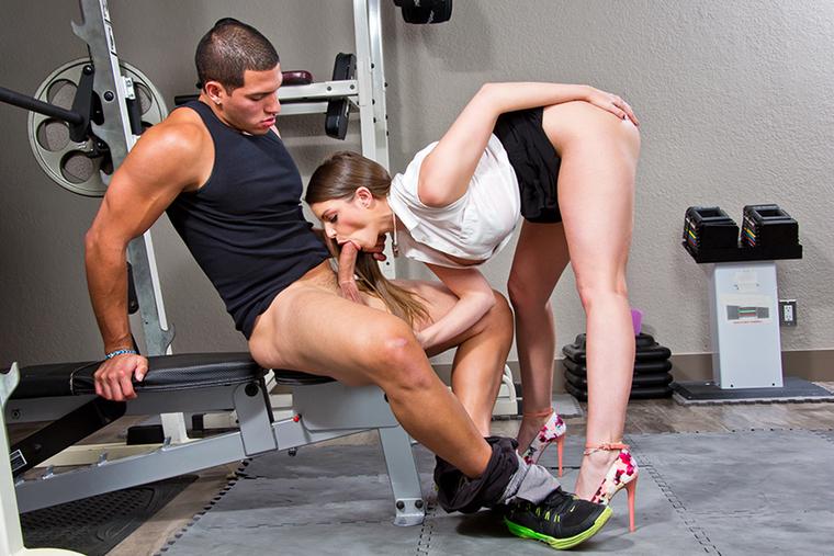 fotos de pornstars girls in the gym