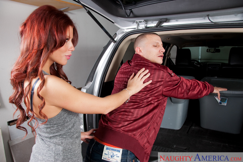 Latina Brooklyn Lee fucking in the truck with her tattoos - Sex Position 1