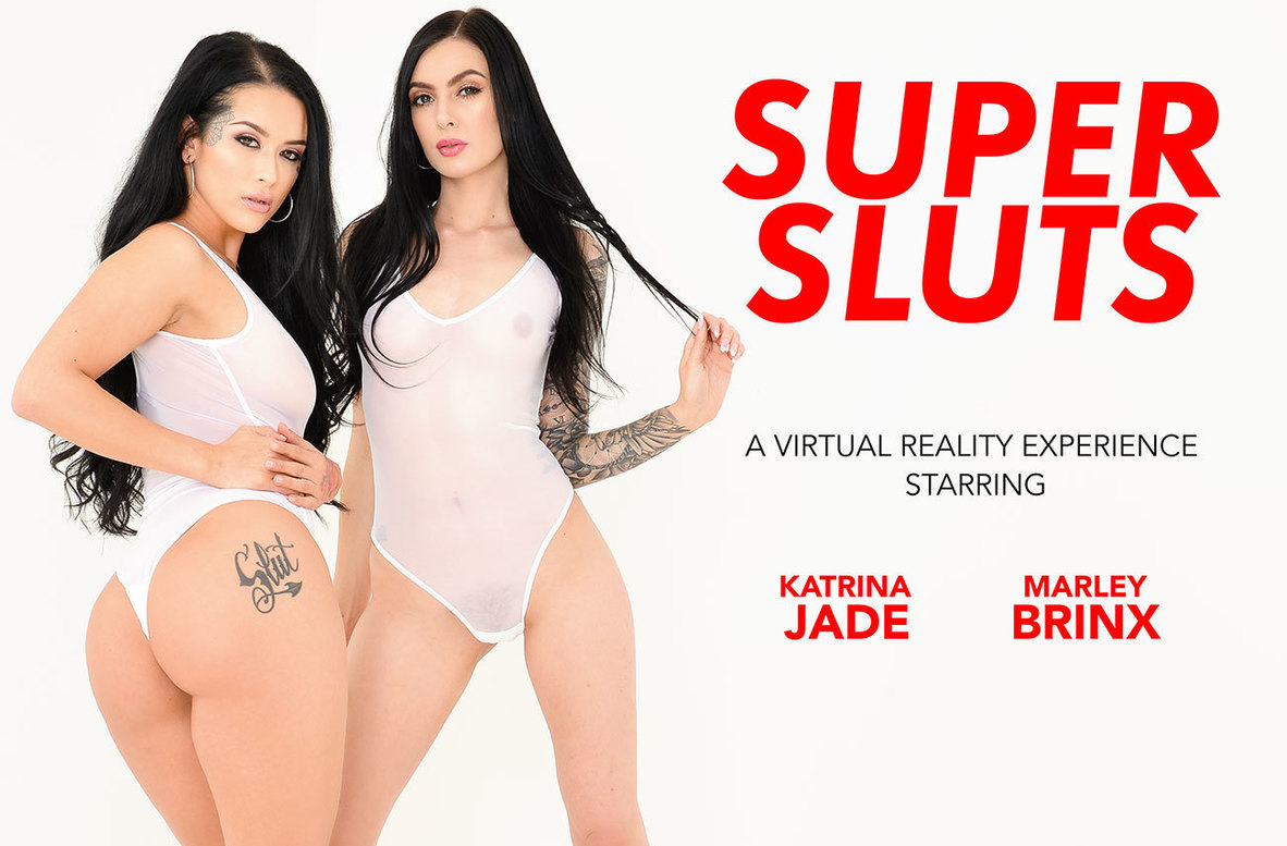 Watch Katrina Jade, Marley Brinx and Dylan Snow VR video in Naughty America